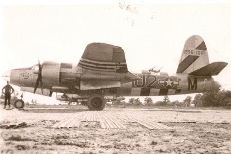 "B-26B-55-MA, Serial # 42-96161, coded U2*M named ""Patty Kay"""
