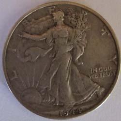 Pièce de 50 cents en argent
