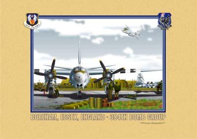 B-26 Maurauder bomber