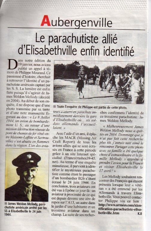 Article Courrier de Mantes 16 mars 2011
