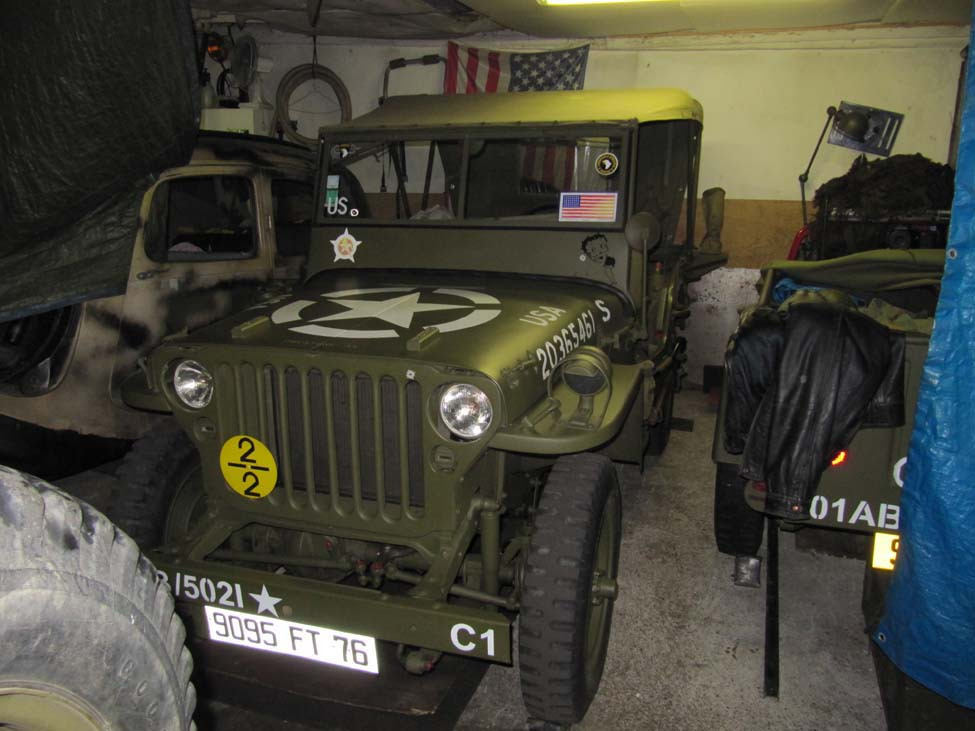 US military Jeep - © Seconde-Guerre-Mondiale.com
